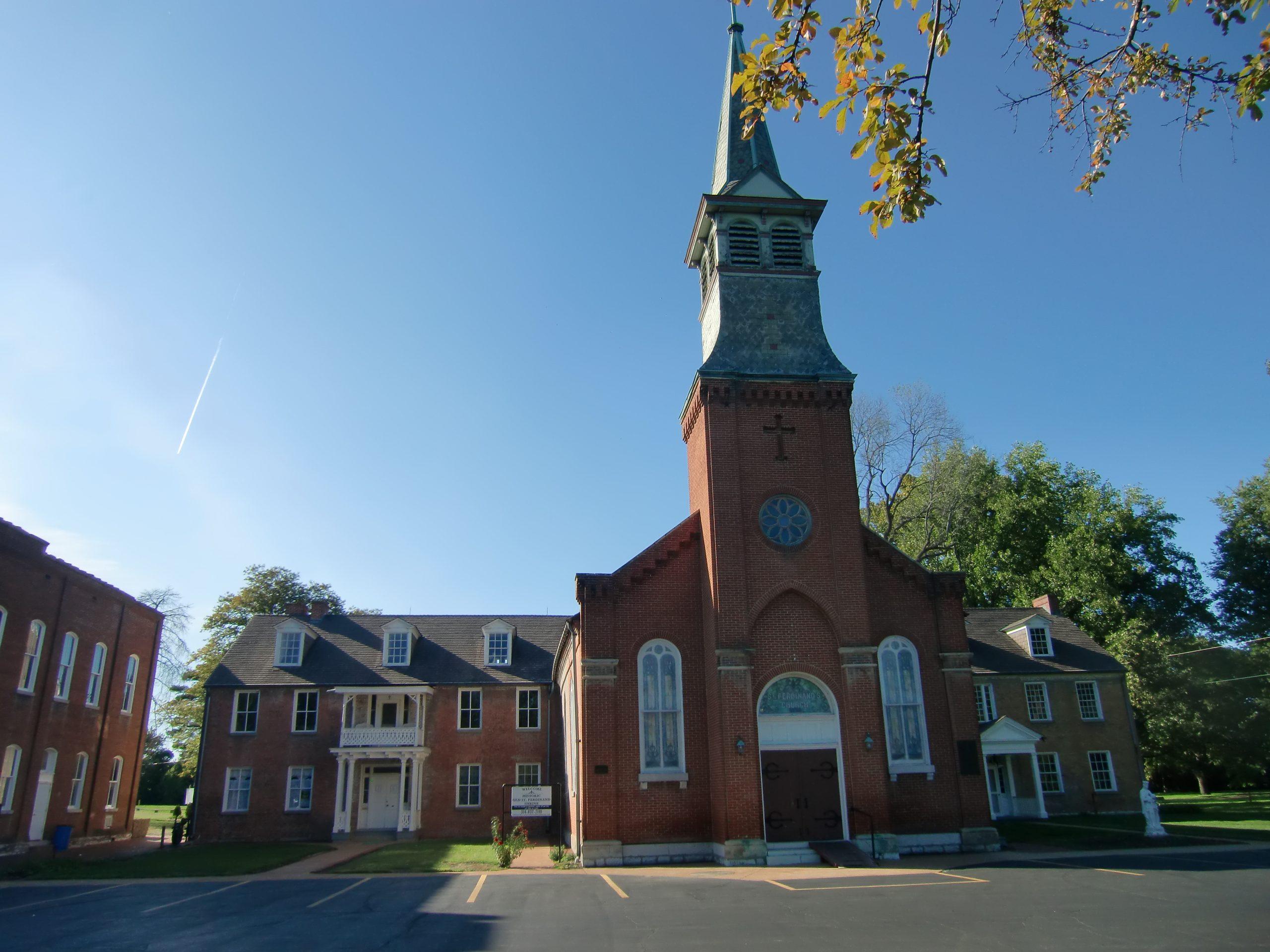 The Old St Ferdinand Shrine, Florissant Missouri